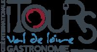 Logo Tours Cite Internationale Gastronomique, restaurant Le Xii de Luynes, proche de Tours, Chateaux en Touraine, Loire Valley, France