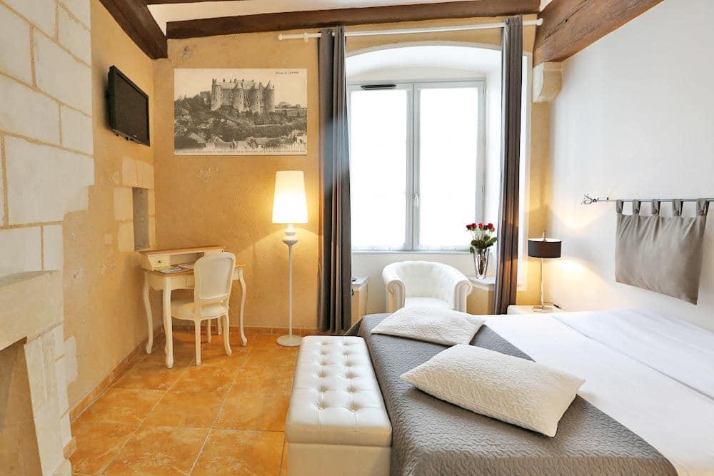 Superior Room Boutique Hotel Le Douze de Luynes, near Tours and Loire Valley Castles